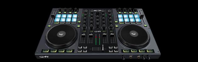 DJ Controller mit 16 Trigger Pads