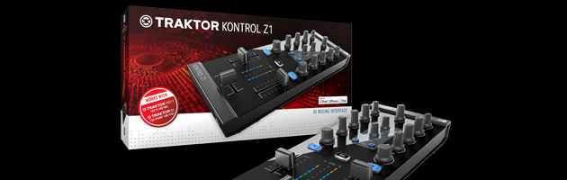 Native Instruments kündigt TRAKTOR KONTROL Z1 an