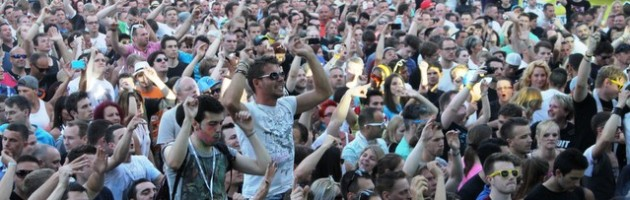 "5.000 Besucher beim Open‐Air ""WE ARE ONE 2013"""