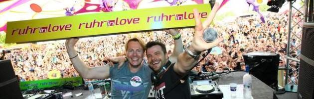 46.000 feierten bei größter Ruhr-in-Love