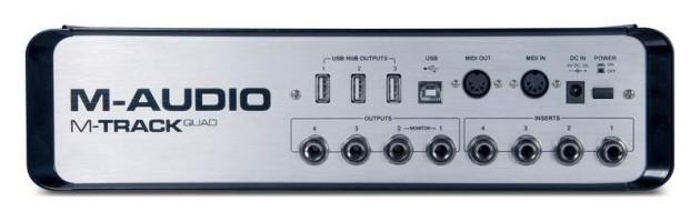 M-AUDIO M-TRACK QUAD ab sofort erhältlich