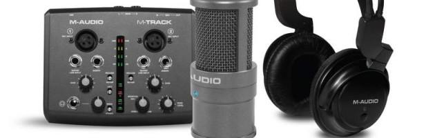 M-AUDIO stellt Vocal Studio Pro vor
