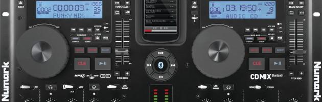 Numark CDMIX Bluetooth ab sofort erhältlich
