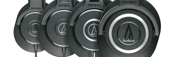 Audio-Technica stellt neue Generation der M-Serie vor