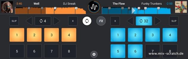 Mixvibes aktualisiert Cross DJ für Android auf Version 1.2