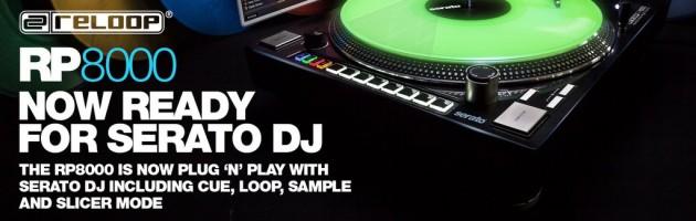 Serato DJ unterstützt ab sofort den Reloop RP-8000