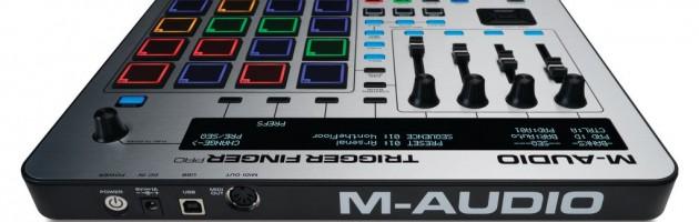 M-AUDIO liefert Trigger Finger Pro aus
