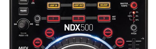 Numark präsentiert NDX500