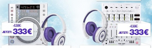 Reloop bietet Sensational-White-Bundles
