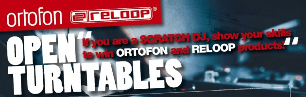 Reloop & Ortofon präsentieren Turntable Contest auf der Musikmesse