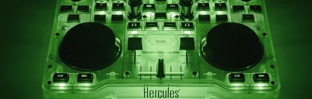 Hercules stellt DJControl Glow vor
