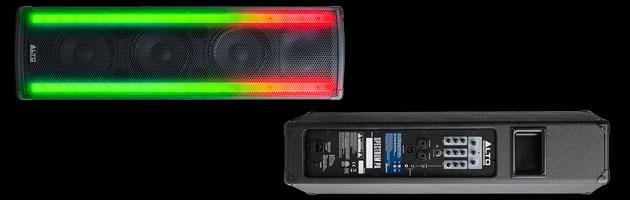 Alto Professional stellt Spectrum PA mit Bluetooth und Beleuchtung vor