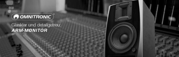 Steinigke nimmt ARM-6.5 2-Wege-Studio-Monitor ins Programm