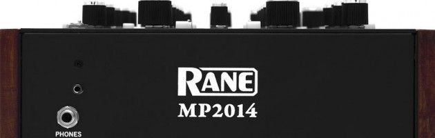 Rane stellt den neuen MP2014 Zweikanal Rotary Mixer vor