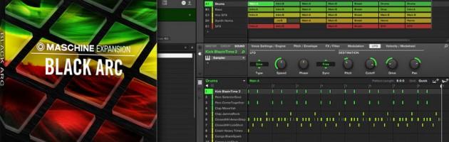 Native Instruments veröffentlicht BLACK ARC Expansion für MASCHINE