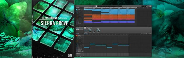 Native Instruments veröffentlicht SIERRA GROVE MASCHINE Expansion